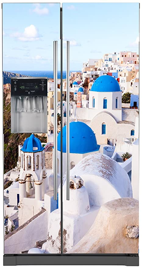 StickersNews Pegatinas Nevera Americano la Grecia 5752 ...