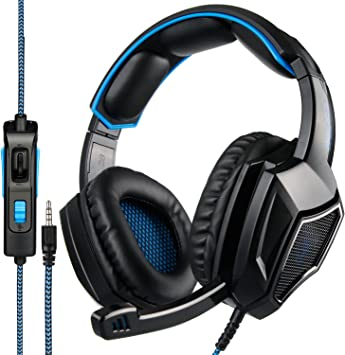 Xbox One Gaming Auriculares, SA920 Plus 3.5mm Stereo Gaming ...
