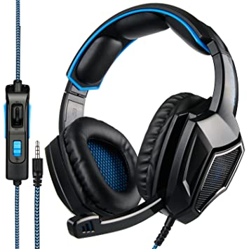 Sa920 Plus Stereo Gaming Headset con Micr¨®fono DE 3,5 mm en