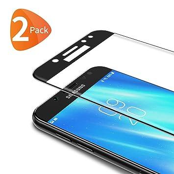Bewahly Cristal Templado para Samsung Galaxy J5 2017 [2 Piezas ...