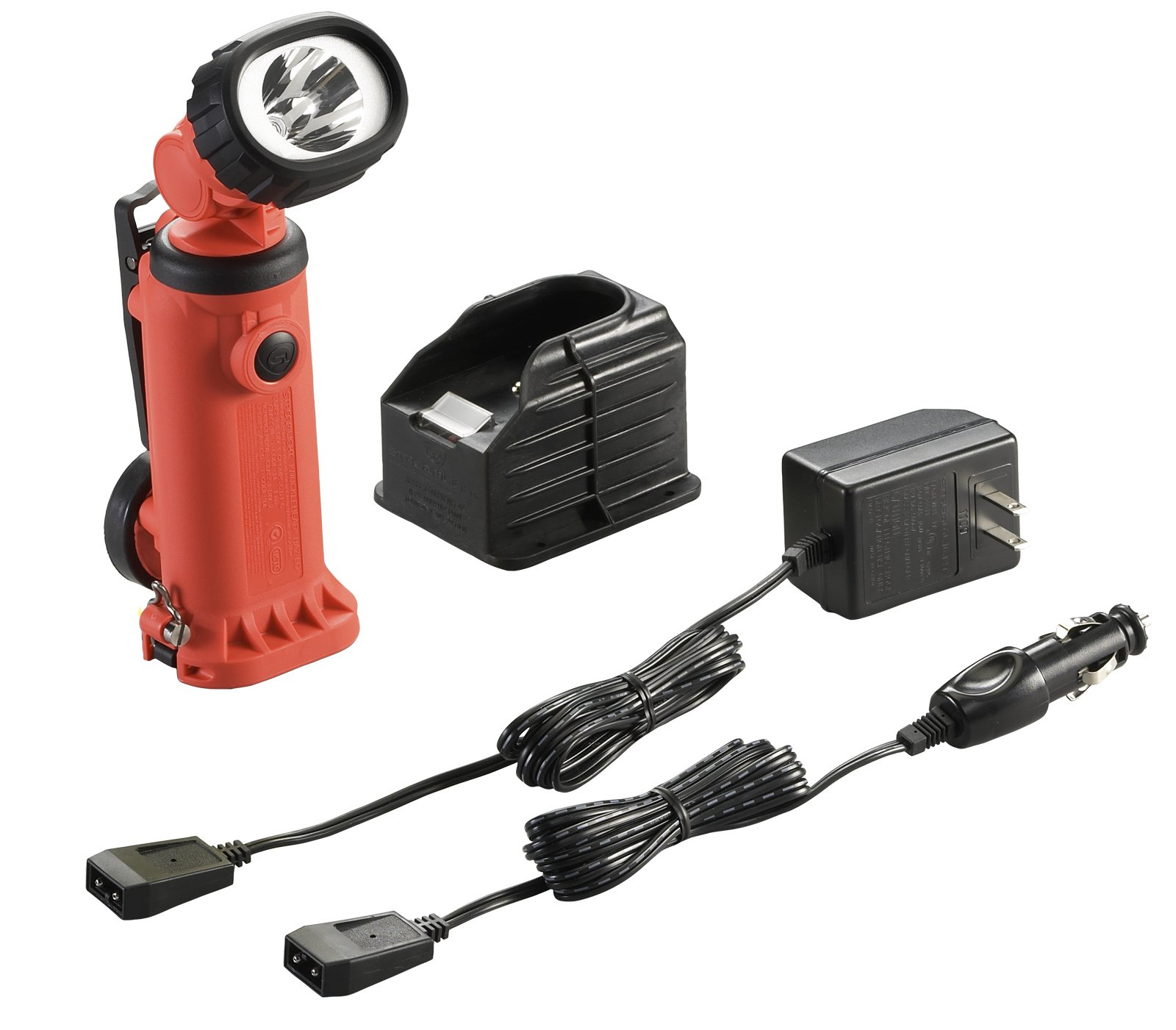Streamlight 91757 Knucklehead HAZ-LO Rechargeable Spot Light with 120-volt AC/12-volt DC Charger, Orange by Streamlight (Image #2)