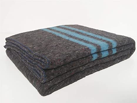 Sanz Marti - Mantas Mudanzas 140x200 gruesas Fabricadas en España 1 manta - azul: Amazon.es: Hogar
