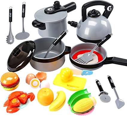 Lovely Suitable For Kids Lovely Toys Smart Toy Kitchen Fruit Toy Children Gifts