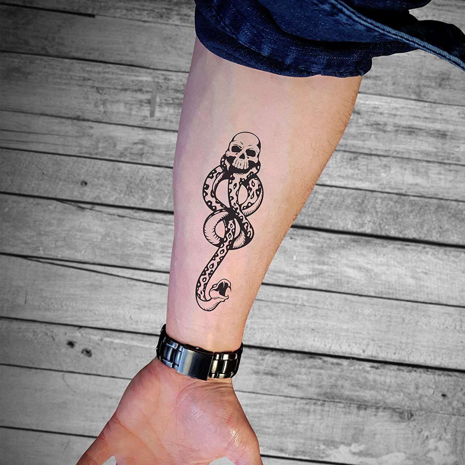 Amazon Com Harry Potter Tattoos 15 X 10cm Beauty I have been since i was like, eight. harry potter tattoos 15 x 10cm