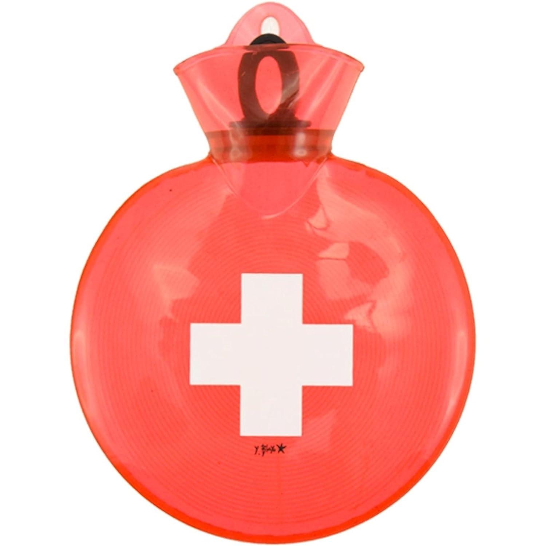 Incidence Paris 36089 Bouillotte translucide 75 cl Polypropyl/ène 21 x 21 x 4 cm Croix Rouge
