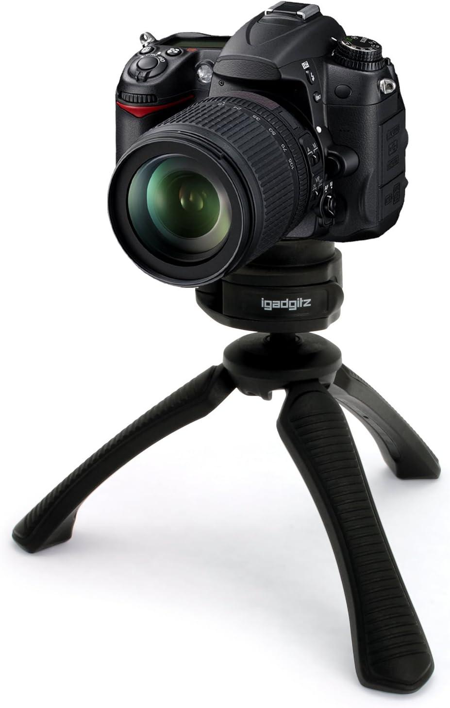 igadgitz Mini Ligera Trípode de Mesa Mano Estabilizador para Canon ...