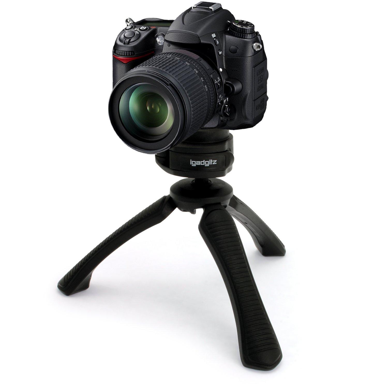 igadgitz Mini Ligera Trípode de Mesa Mano Estabilizador para Nikon D Series
