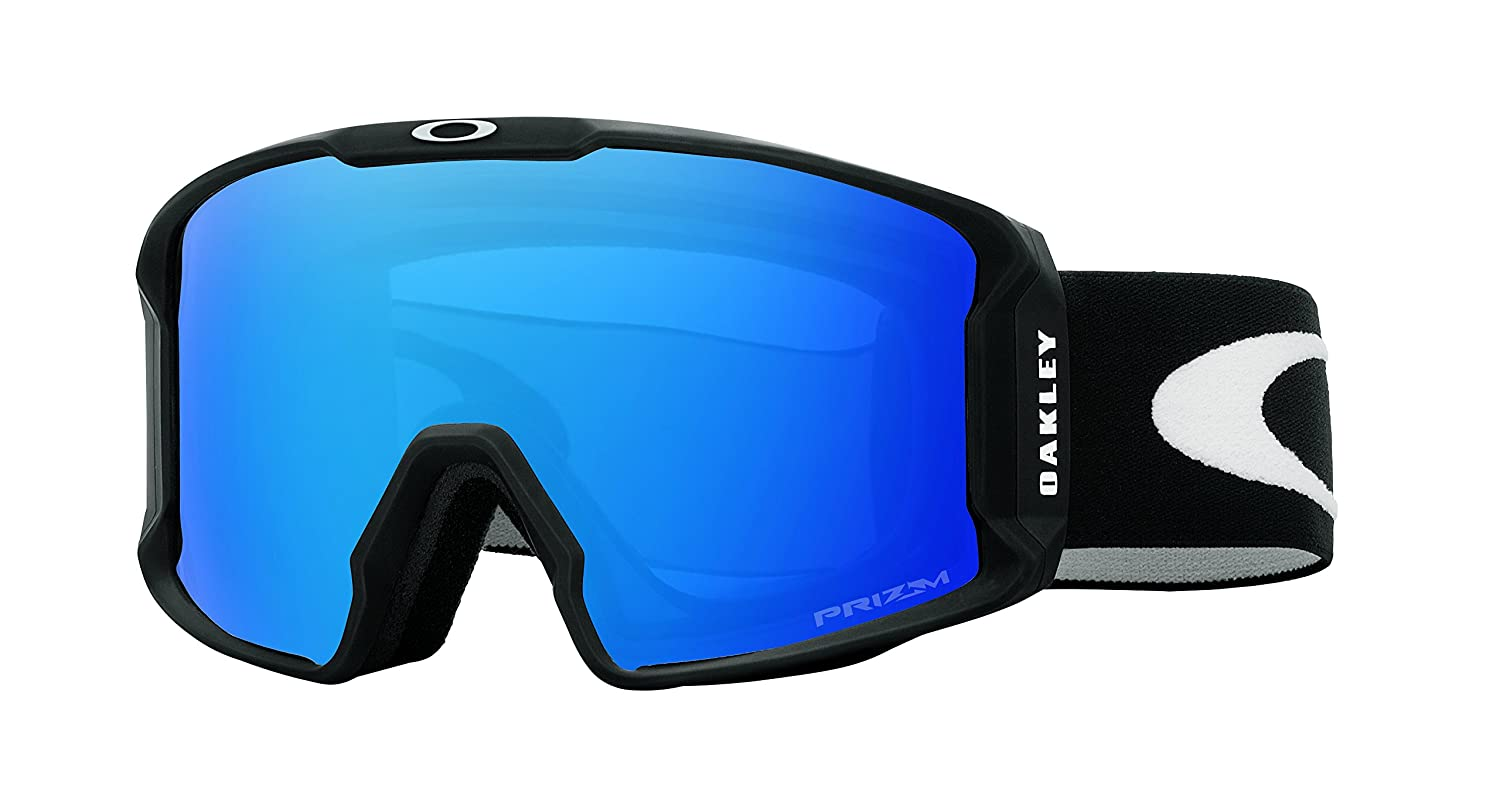 2de6c9a858 Amazon.com   Oakley Line Miner Adult Goggles - Matte Black Prizm Sapphire  Iridium One Size   Sports   Outdoors