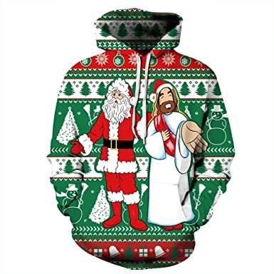 plustrong jesus birthday boy ugly christmas sweater xmas holiday sweatshirt santa jesus s