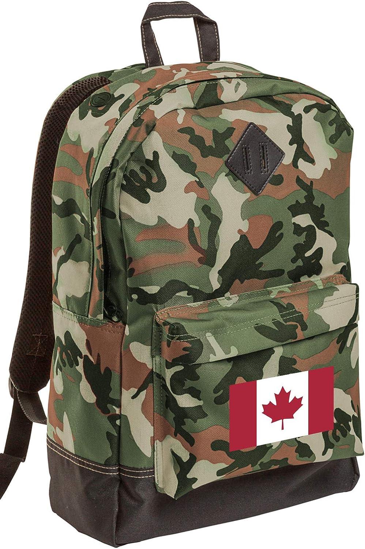 Canada Flag CAMO Backpack MEDIUM Canada Backpacks