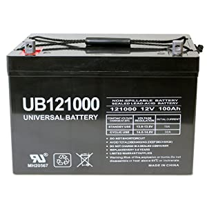 Universal UB 121000 is one of the best AGM deep cycle batteries