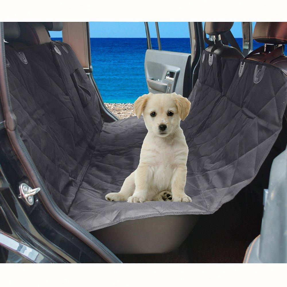 Detachable Pet Car Hammock Waterproof Mat, Decdeal Rear Seat Cover Predector Dog Cat Travel Mat for Cars Trucks Cargos SUV