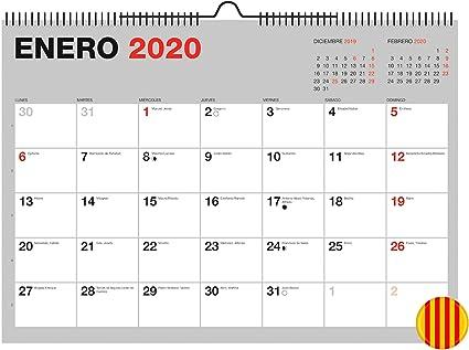 Miquelrius 28333 - Calendario de Pared A3 para escribir Gris 2020 ...