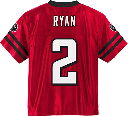 atlanta falcons red jersey