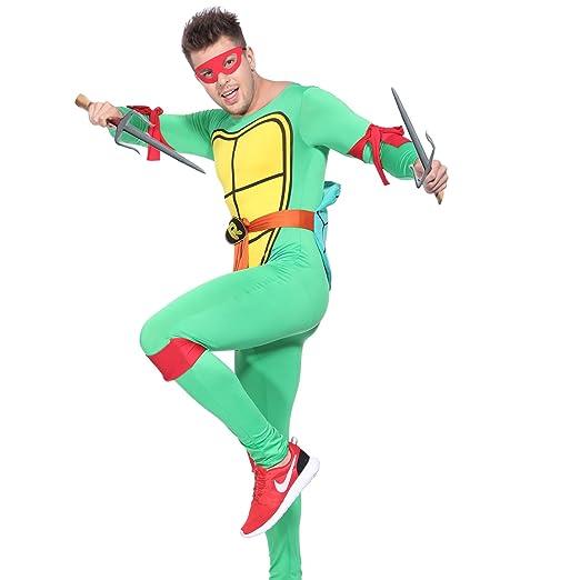 Anladia - Disfraz de Tortugas Ninja para Hombre