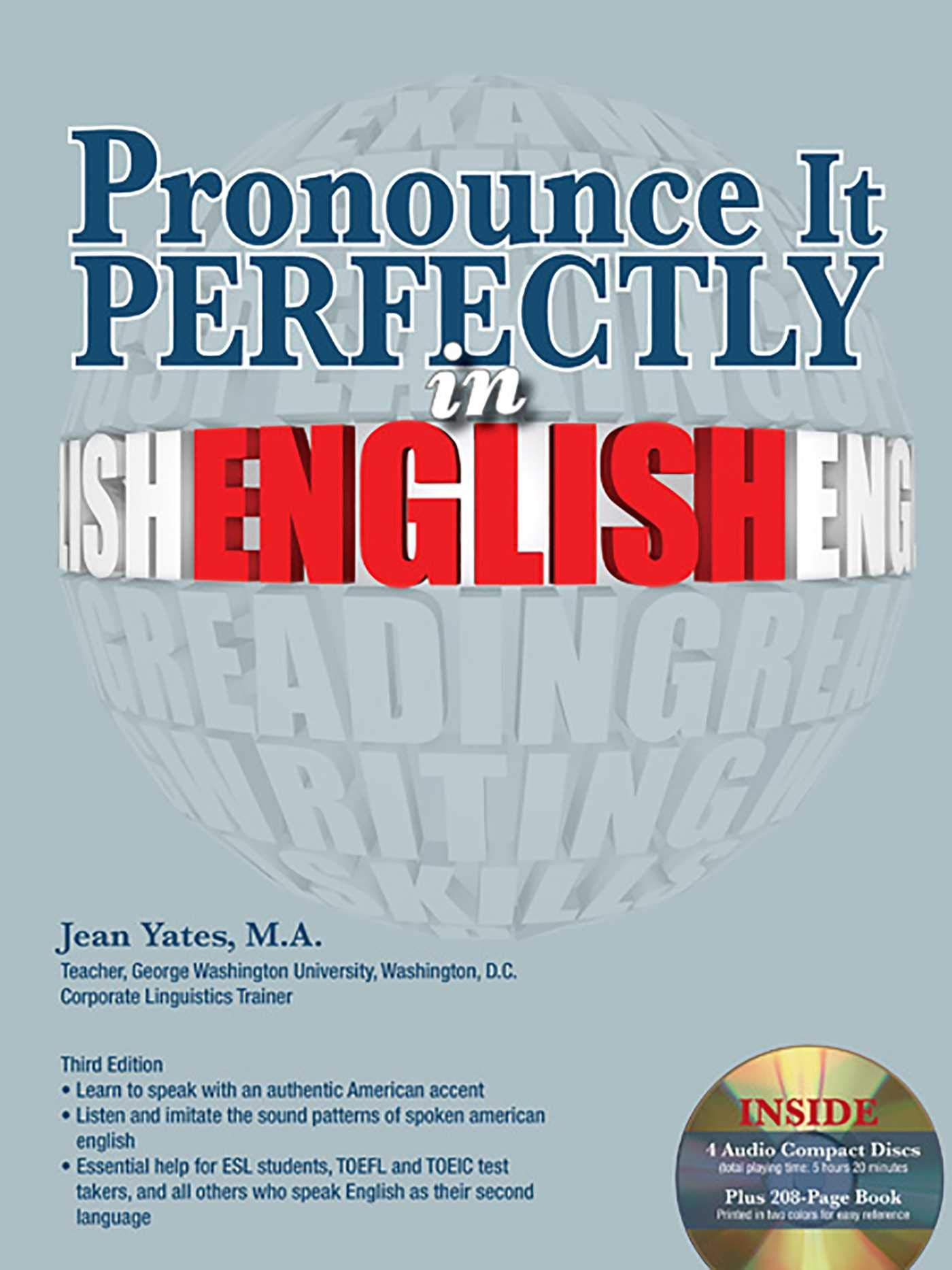 Pronounce it Perfectly in English with Audio CDs (Pronounce It Perfectly CD Packages)
