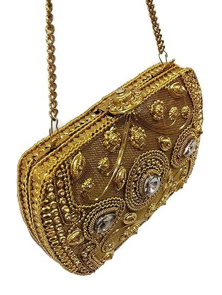 a5515cf20914 Metal clutch Metal bag metal purse bridal bag wedding clutch bags Party  Bridal Box Clutch for