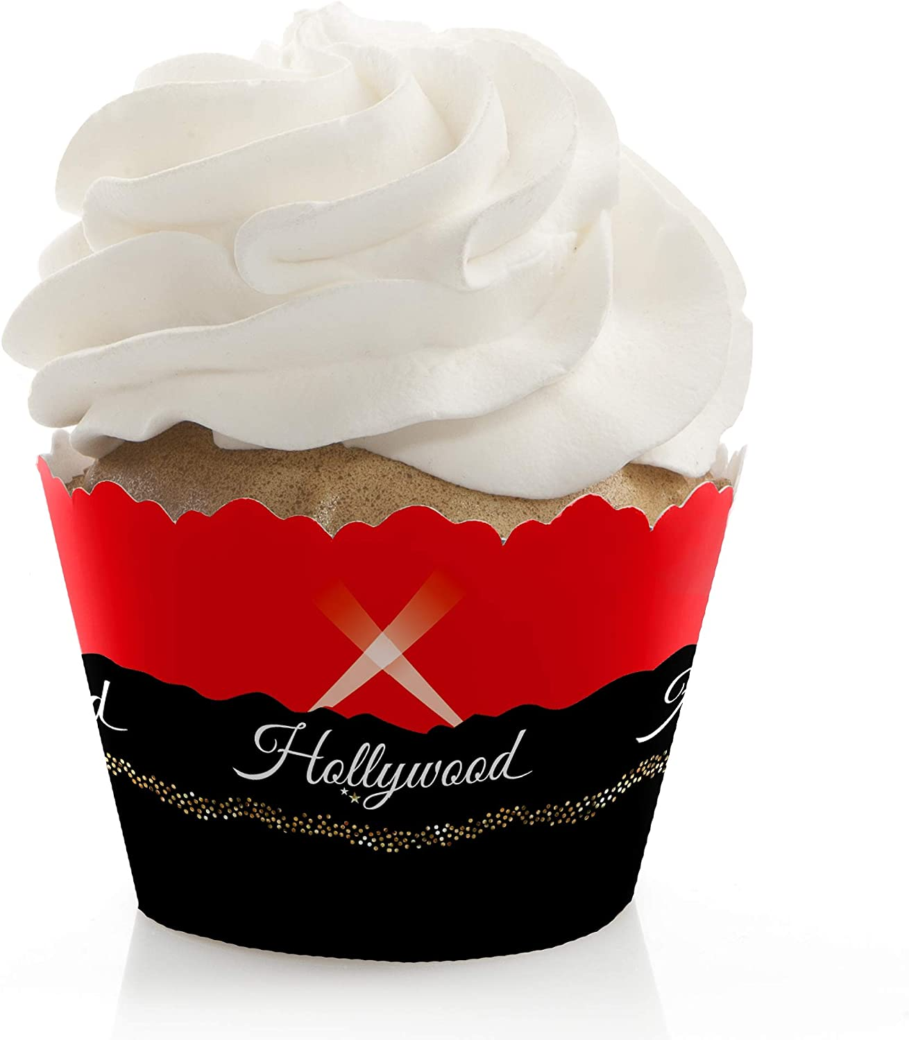 """Star Hollywood Awards Night Prom Theme Party 7/"""" Paper Dessert Plates"""
