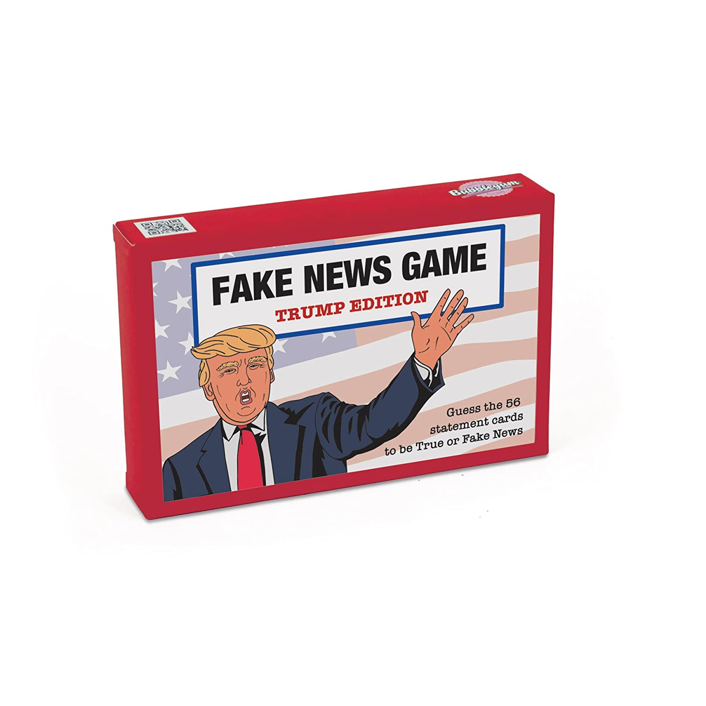 Bubblegum Stuff BG1820 Fake News Game-Trump Edition