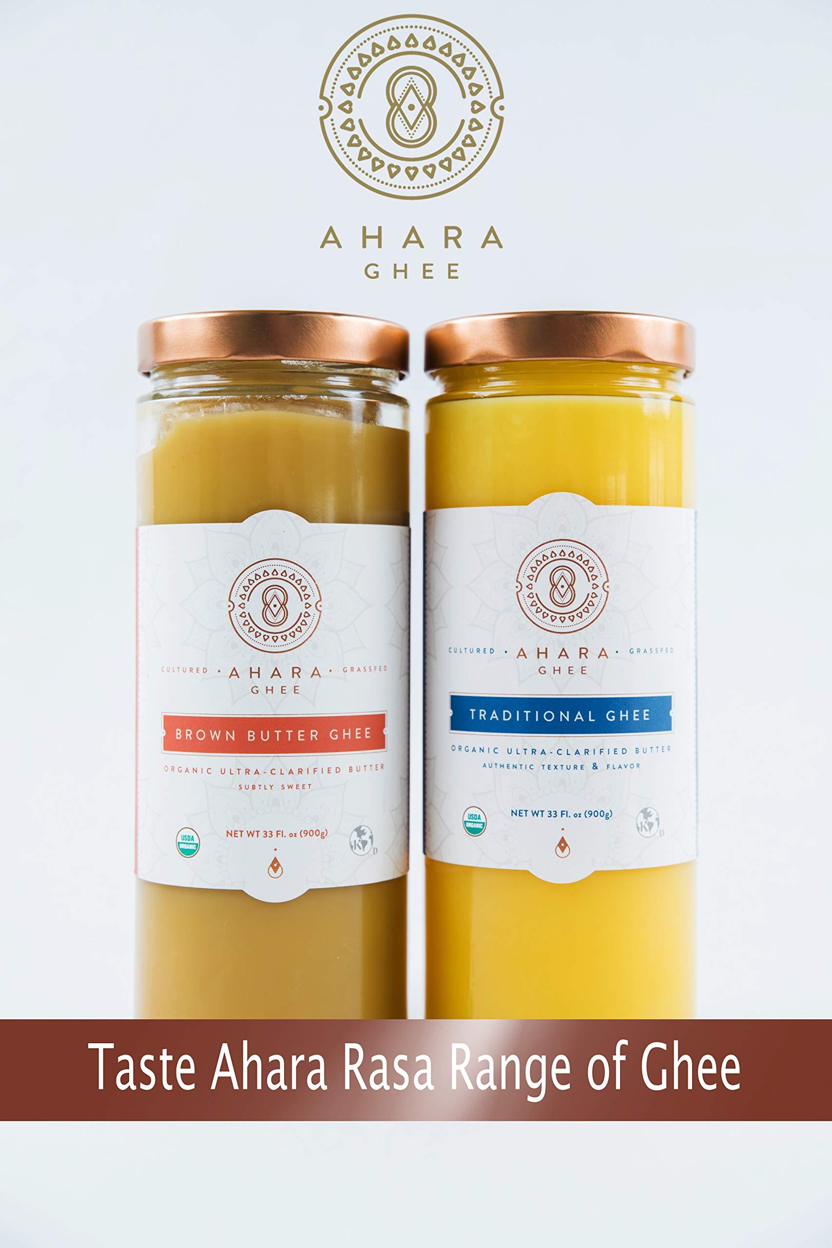 Ahara Rasa Organic Traditional Ghee 33oz, 100% Pure Grass Fed by Ahara Rasa (Image #4)