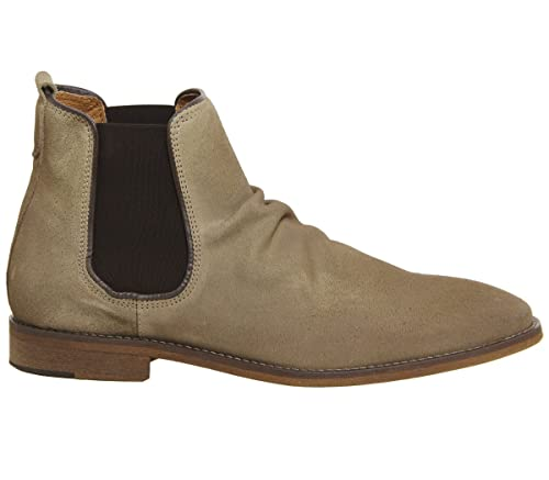 Ask The Missus Edgar Chelsea Boot Beige Suede - 11 UK  Amazon.co.uk ... edc12f7c16438