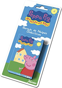 Comprar juego de mesa: Fournier Peppa Pig Baraja de Cartas Infantil, Multicolor (175021)