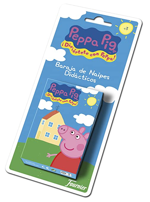 Fournier- Peppa Pig Baraja de Cartas Infantil, (175021)