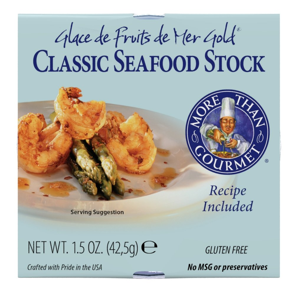 Amazon.com : More Than Gourmet Classic Seafood Stock, 1.5 Ounce ...