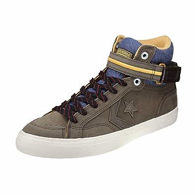 Convere Herren Schuhe Chucks Chuck Taylor Pro Blaze Plus Suede Hi Braun Sneakers