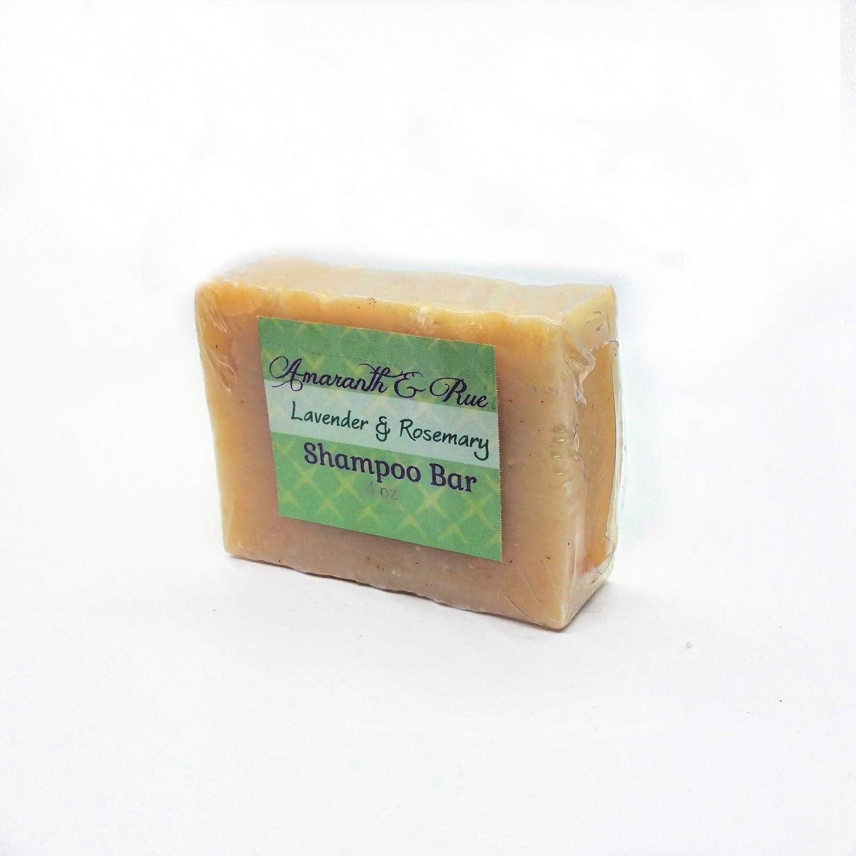 Organic Solid Shampoo Bar   Natural Eco-Friendly Hair Care by Amaranth & Rue