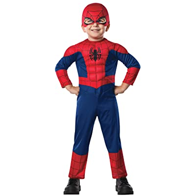 Rubie's Marvel Ultimate Spider-Man Costume, Toddler, As Shown: Toys & Games