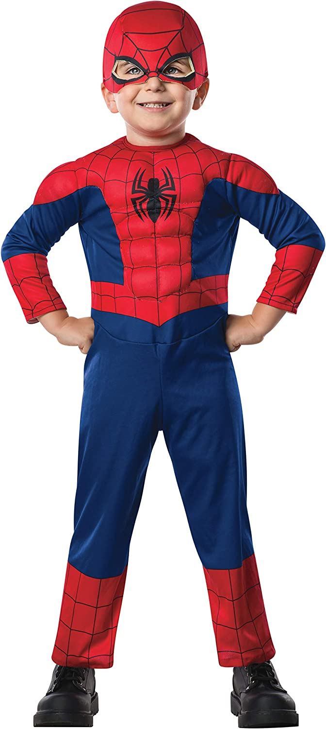 Rubie's Costume Co Dlx Ultimate Spider-Man Costume, 2T