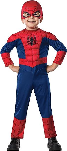 Disfraz de Ultimate Spiderman deluxe para bebé: Amazon.es ...
