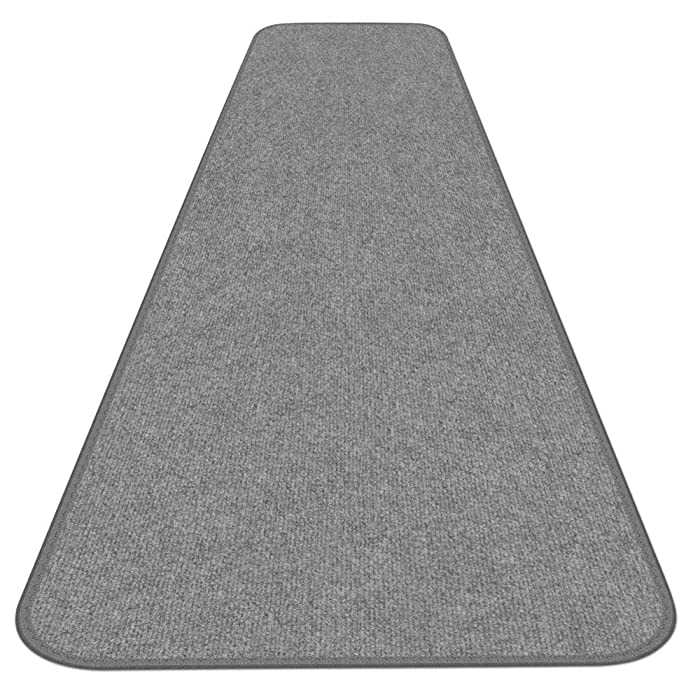 House, Home and More Outdoor Carpet Runner - Gray - 3 Feet x 15 Feet