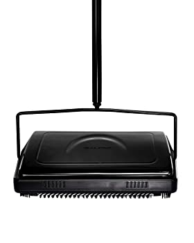 Alpine Industries Triple Brush Floor Carpet Sweeper