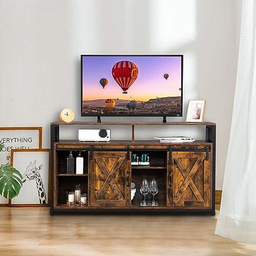 VINGLI Farmhouse TV Stand