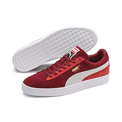 best website 390f2 c9f14 PUMA Unisex Adults' Suede Classic Low-Top Sneakers