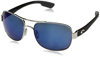 7a5d0bbbf4e7 Amazon.com: Costa Del Mar Cocos Sunglasses Palladium/Blue Mirror ...