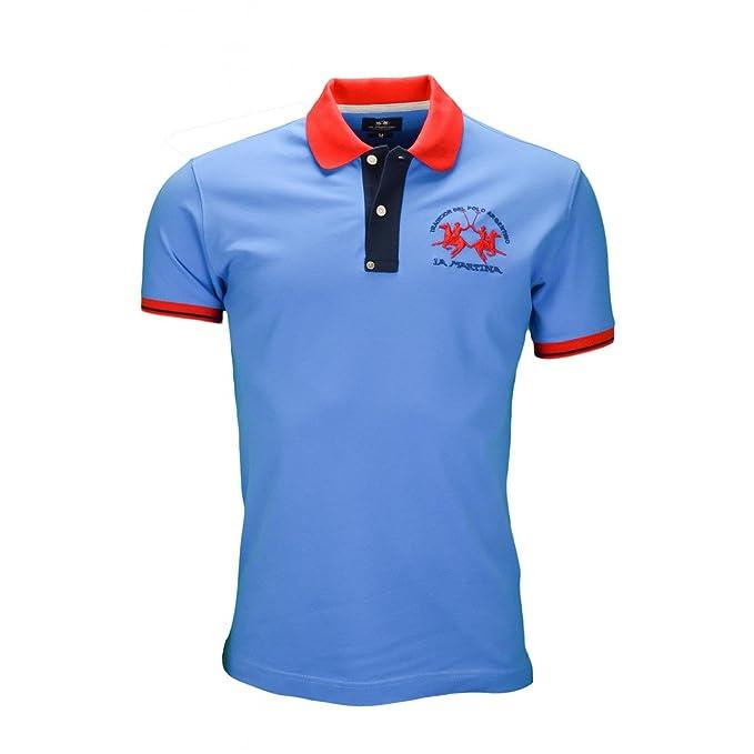 La Martina Polo básico TRIXIE Azul para Hombre azul L: Amazon.es ...