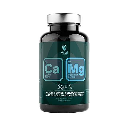 CALCIUM & MAGNESIUM - Mejor absorción de calcio, gracias al magnesio. Dosis de 235