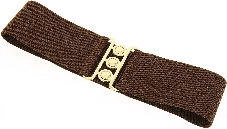Cintura donna 7,50 cm larga e Elastica fatto in Francia GLORIA FASHIONGEN