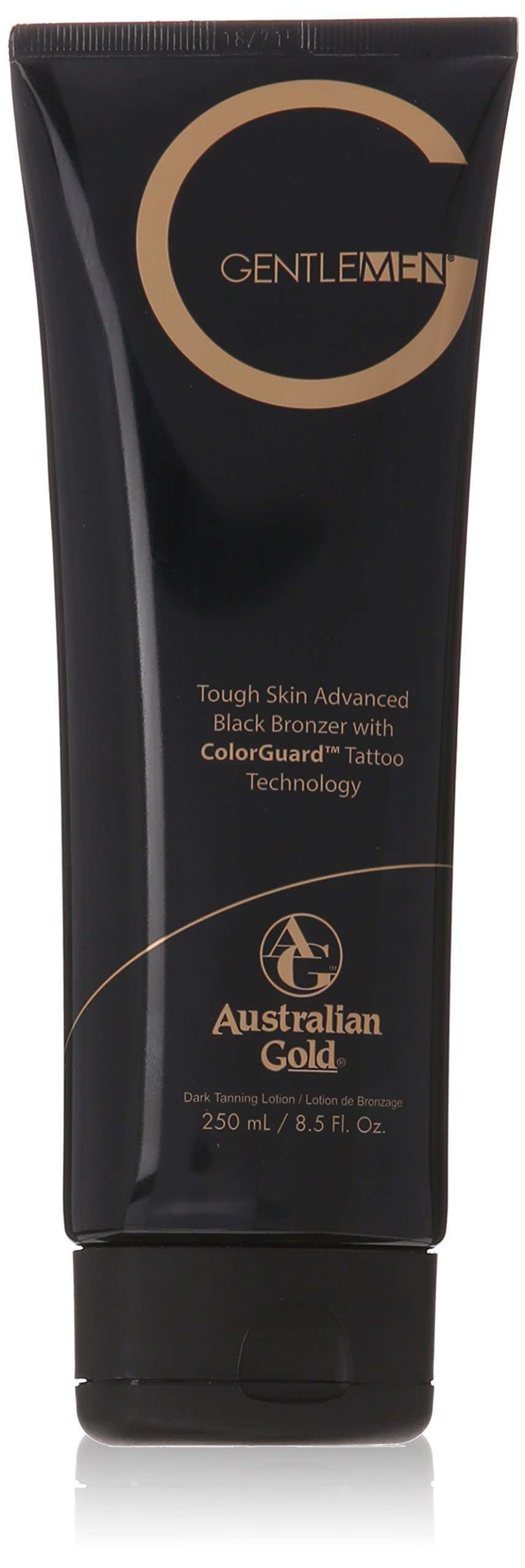 NEW G GENTLEMEN® ADVANCED BLACK BRONZER lotion- 8.5 oz.
