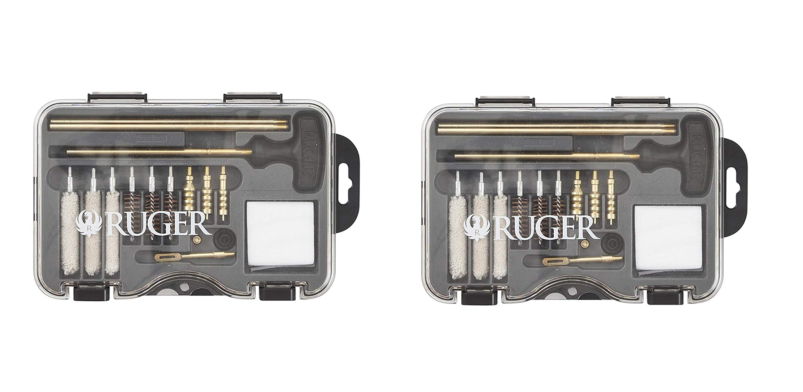 Allen Company Ruger Universal Handgun Cleaning Kit - .380ACP.357 Magnum, 9mm, 10mm.40 Caliber.38 Special.44 Magnum and .45 ACP (Pack of 2) by Allen Company