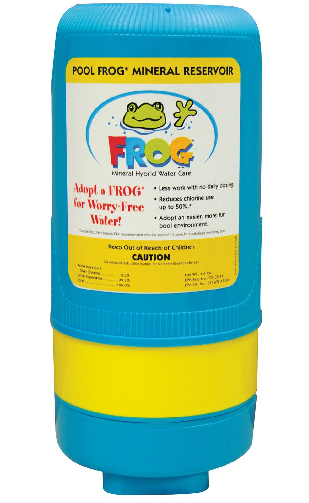 King Technology 5400 Series Swimming Pool Frog Mineral Cartridge - Up to 40,000 Gallons by King Technology
