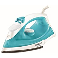 Eveready SI1200 1200-Watt Steam Irons (White with Blue)