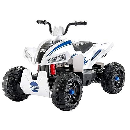 f782f3032 Amazon.com  Uenjoy 12V Kids ATV Quad 4 Wheeler Battery Powered ATV Electric  Ride On Car w  Wheels Suspension