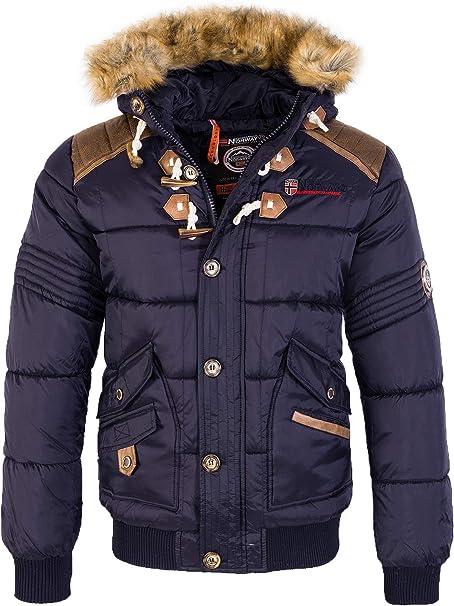 geographical norway warme designer damen winter stepp jacke winterjacke