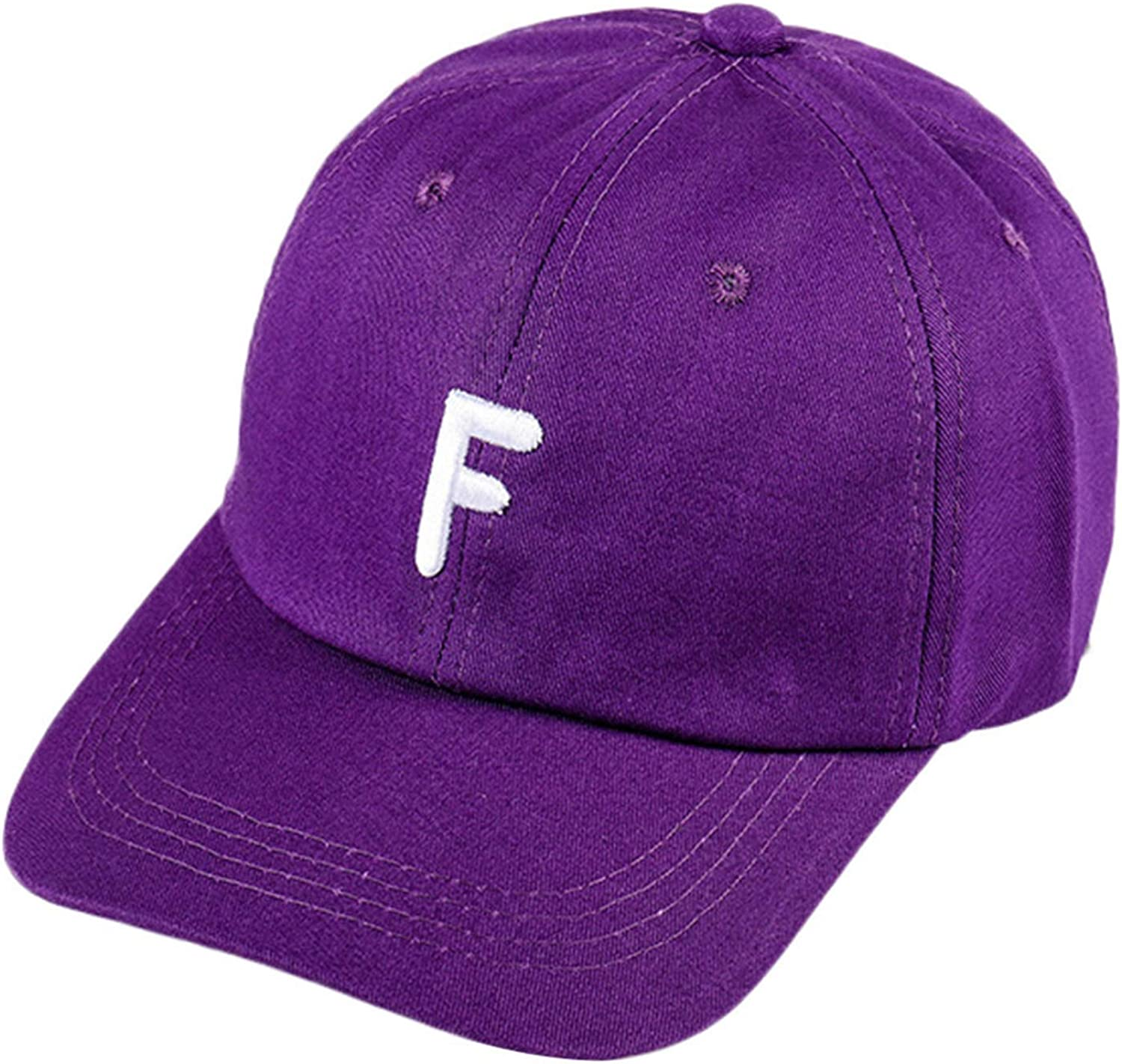 Unisex Baseball Hat Vintage Letter F Twill Cotton Baseball Cap Vintage Adjustable Dad Hat