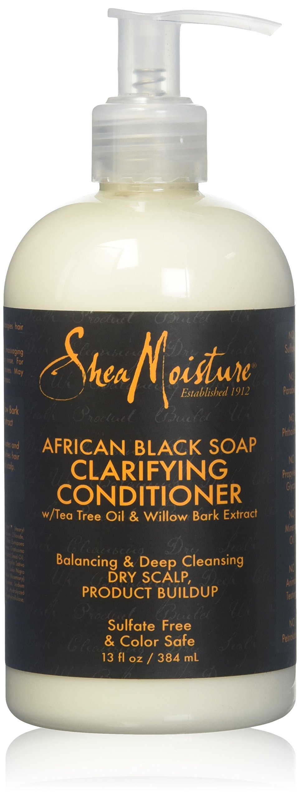 Shea Moisture African Black Conditioner Balance 12 Ounce Pump (354ml) (2 Pack)