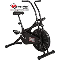 Powermax Fitness Exercise Cycle for Weight Loss at Home (Air Bike, X-Bike, Magnetic Upright Bike)